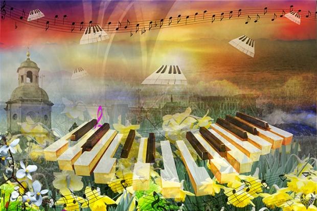 pâques piano